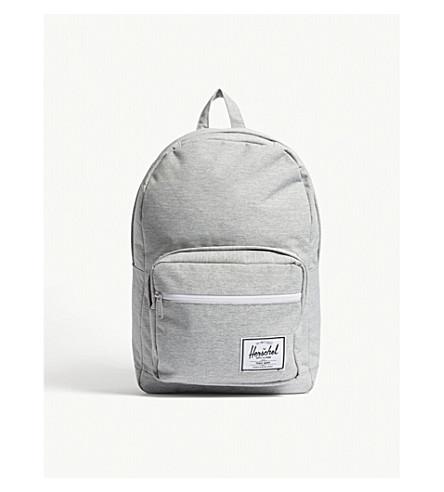 5ef2c4892c10 ... HERSCHEL SUPPLY CO Pop Quiz backpack (Light+grey+crosshatch.  PreviousNext