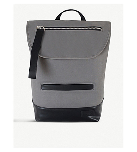 Shiro Neoprene And Vegan Leather Backpack by Charlie Feist