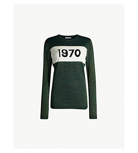 1970 Sparkle Wool Blend Sweater by Bella Freud