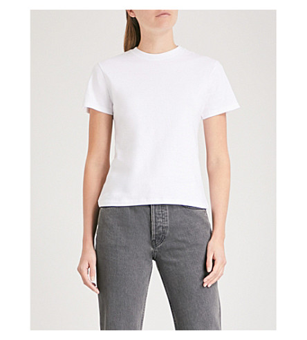 The Crew Cotton T Shirt by Hanes X Karla