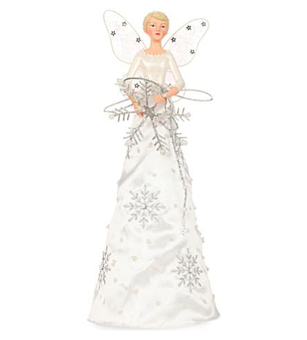 GISELA GRAHAM - Frost fantasy angel tree topper | Selfridges.com