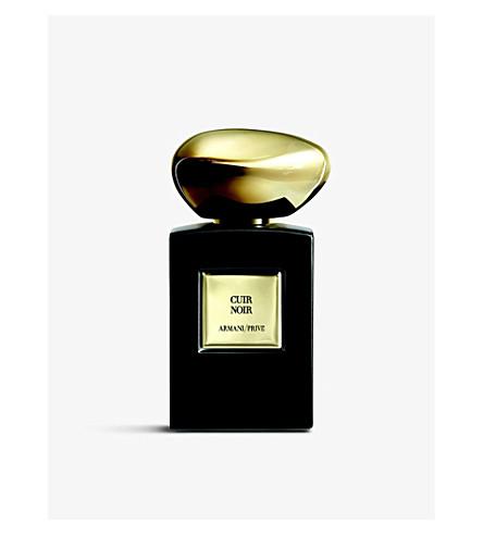 Privé Cuir Noir Eau De Parfum Intense 100ml by Giorgio Armani