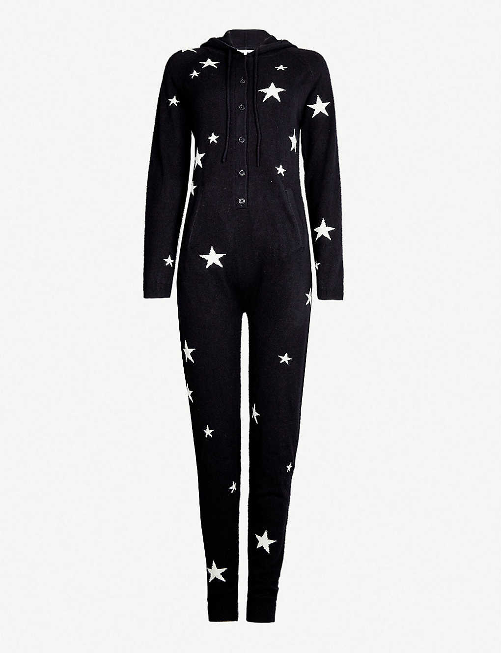 ceeb369e14 CHINTI AND PARKER - Star-intarsia cashmere onesie