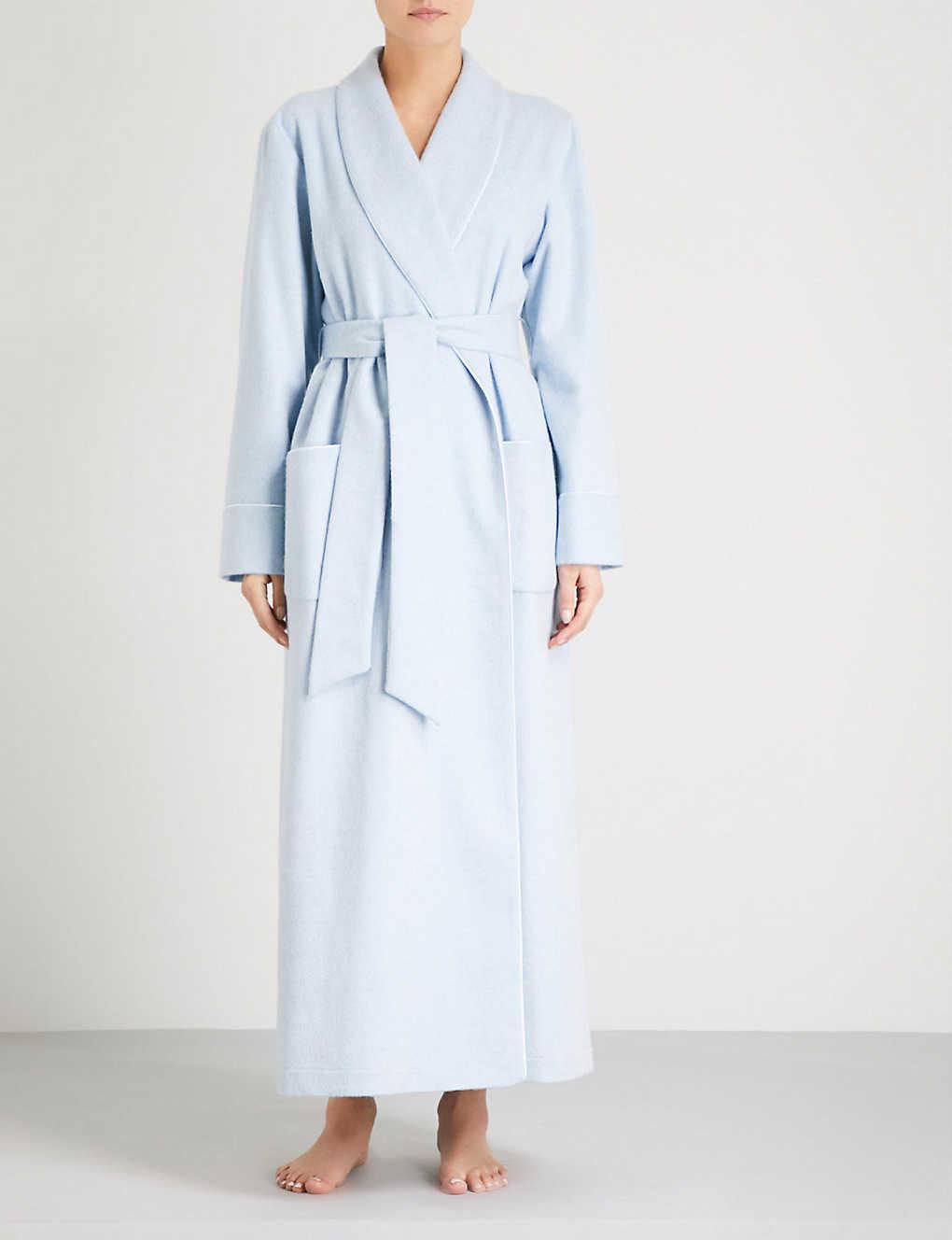 JOHNSTONS - Ladies cashmere dressing gown   Selfridges.com