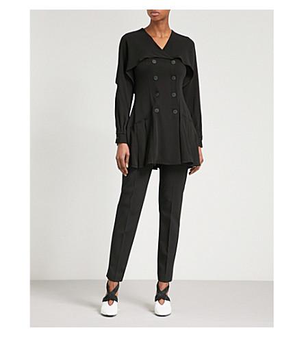 Crepe Mini Dress - Black J.W.Anderson D2l6t7