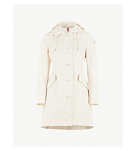 moncler audrey hooded padded raincoat selfridges com rh selfridges com