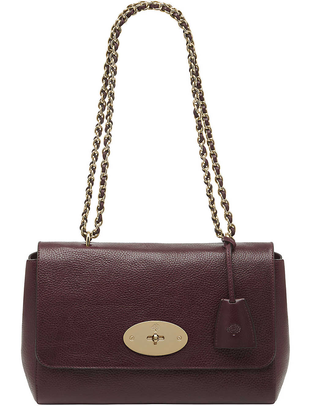 db76e7fe51d MULBERRY - Lily medium leather shoulder bag   Selfridges.com
