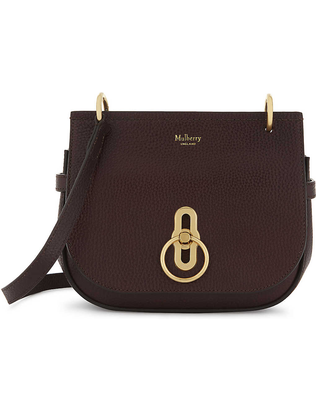 bedfbeb109ec MULBERRY - Amberley small grained leather cross-body bag ...