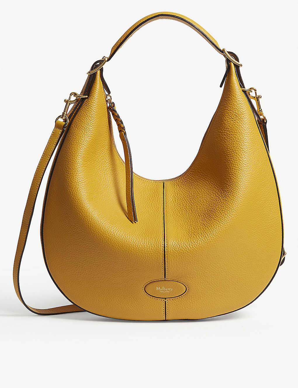 MULBERRY - Selby small grained leather hobo bag  10efa868ab11a
