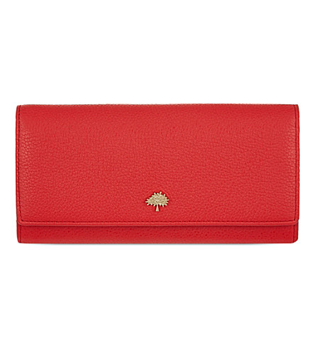 tree-leather-continental-wallet by mulberry