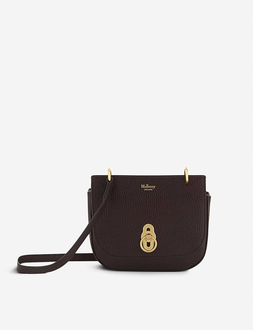 ef68ff60ba MULBERRY - Amberley mini leather cross-body bag