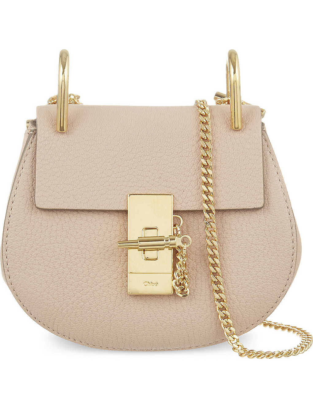 chloe drew bag mini pink selfridges