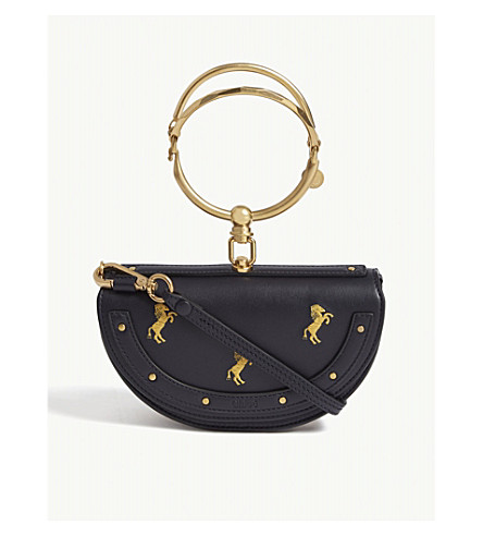 CHLOE - Nile half moon cross-body bag  9c953da740153