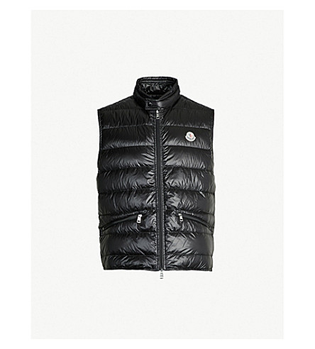 MONCLER - Gui quilted shell-down gilet  10eb213205898