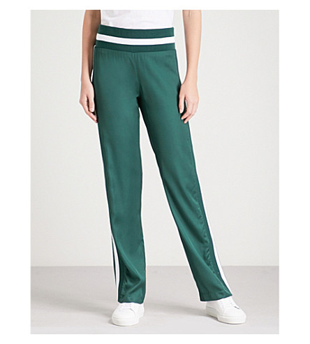 Trailblazer Straight High Rise Woven Jogging Bottoms by Maggie Marilyn