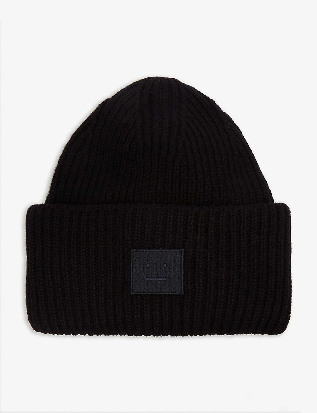 793572f74fa ACNE STUDIOS - Pansy Face knitted wool beanie
