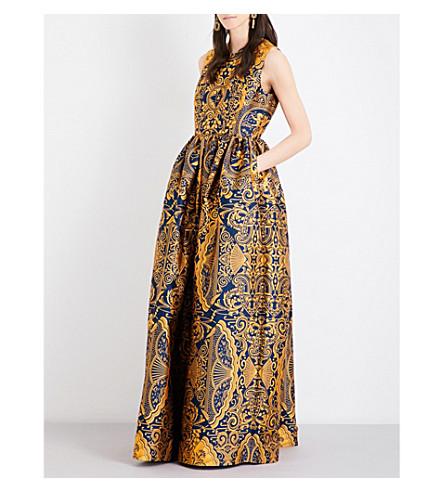 Shaw Jacquard Gown Mary Katrantzou 80SV6lbNQF