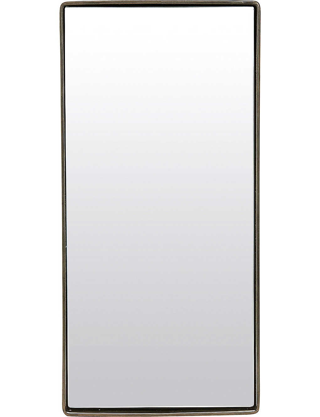 House doctor iron framed wall mirror 55x25cm selfridges no recent searches amipublicfo Images
