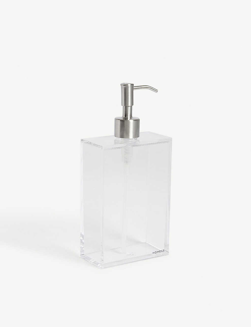 NOMESS - Clear soap dispenser large 650ml | Selfridges.com
