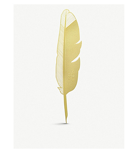 TOM DIXON Tool the Bookwarm Quill bookmark