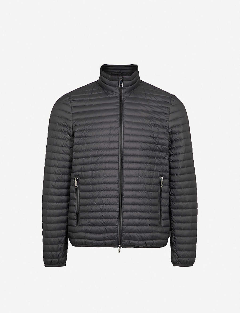 24defadcd6fa EMPORIO ARMANI - Quilted shell-down jacket