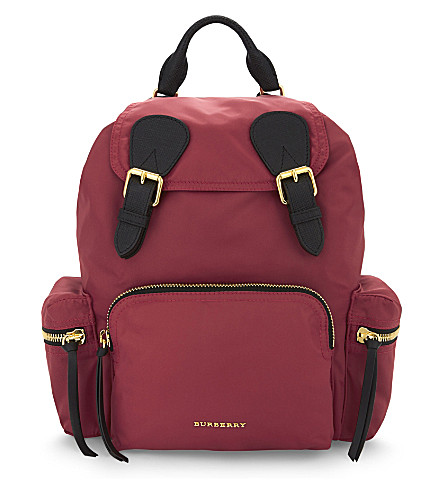The Medium Rucksack by Burberry