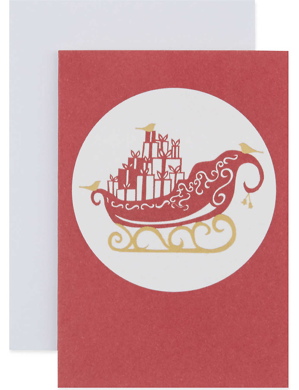 MUSEUMS + GALLERIES - Box of 20 Christmas Papercuts cards ...
