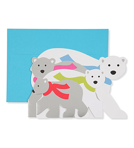 Moma moma arctic greeting set of eight christmas cards previousnext m4hsunfo Image collections
