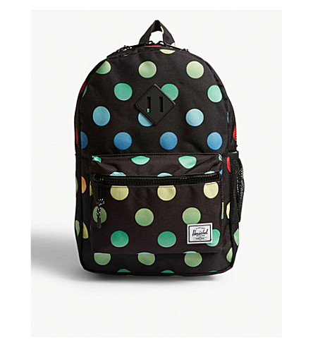 1f735e2c8a96 ... HERSCHEL SUPPLY CO Heritage polka-dot backpack (Black+polka.  PreviousNext