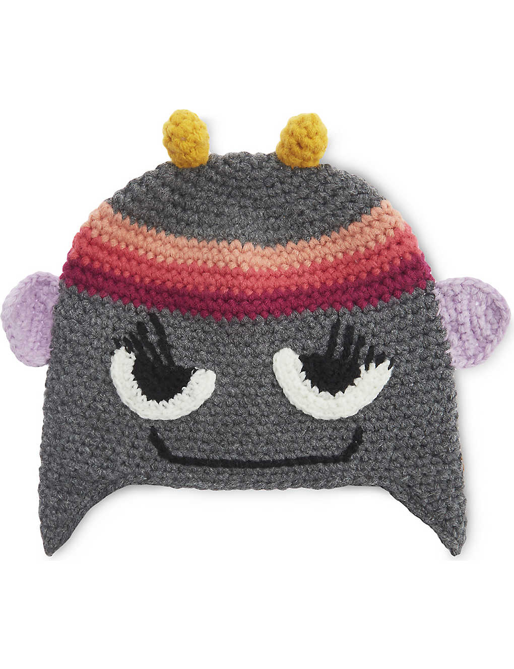 BARTS AL - Monster knitted beanie hat  6aaeeb40acf2