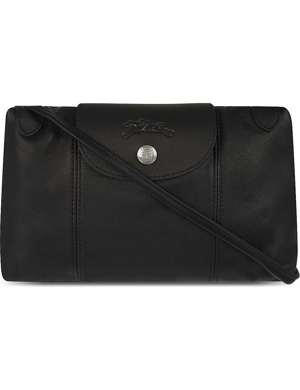 9ec4b35f5a9 LONGCHAMP - Le Pliage Cuir leather cross-body bag   Selfridges.com