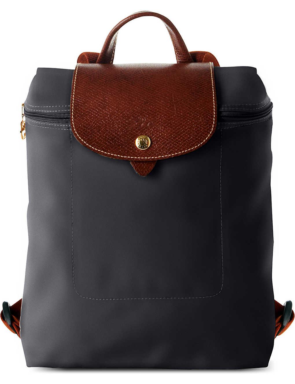 39e9c53aca4 LONGCHAMP - Le Pliage backpack   Selfridges.com