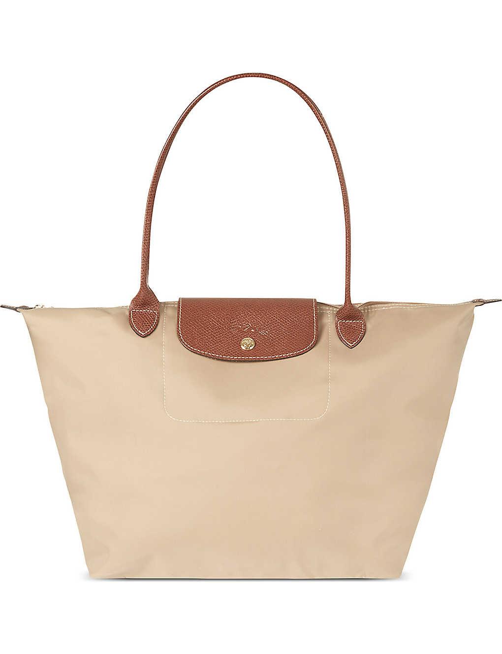 Latest Cheap Longchamp Le Pliage Tote Bags 1899 089 Khaki Beige. Back to Top .