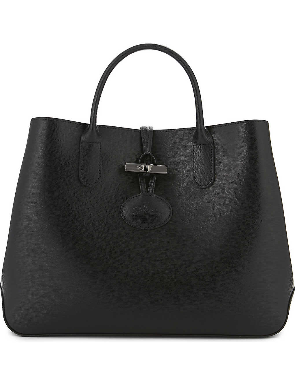 c599fb733108 LONGCHAMP - Roseau leather tote