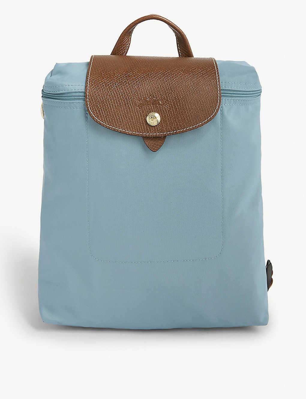 8d0bb4a78242 LONGCHAMP - Le Pliage nylon canvas backpack