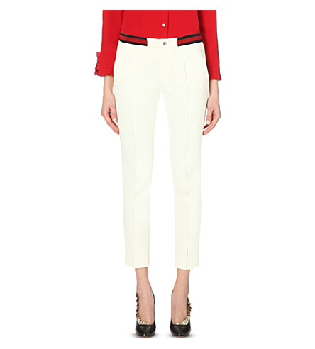 Gucci Cream trousers