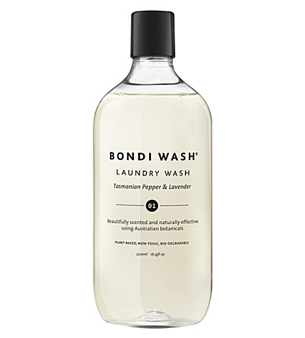Pepper & Lavender Laundry Wash 500ml by Bondi Wash