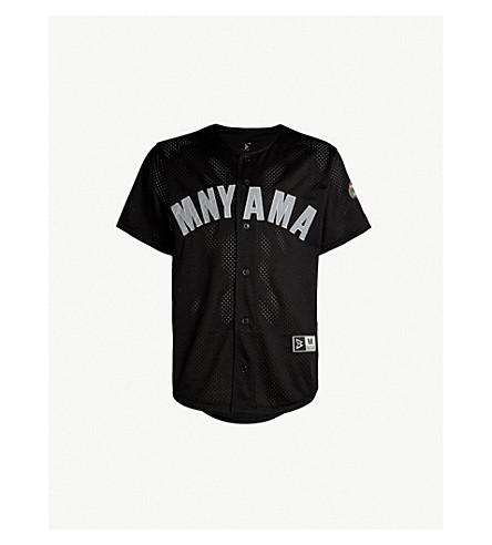 130e44fe3 ... BEAST MODE Logo-patch mesh baseball jersey (Black. PreviousNext