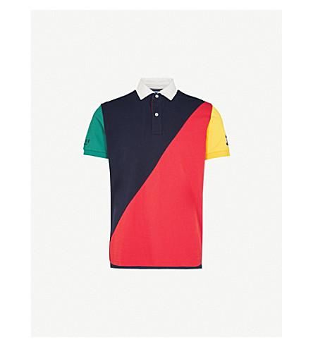 139a5afe675c1 ... TOMMY HILFIGER Aiden regular-fit cotton-piqué polo shirt  (Navy+blazer+ . PreviousNext