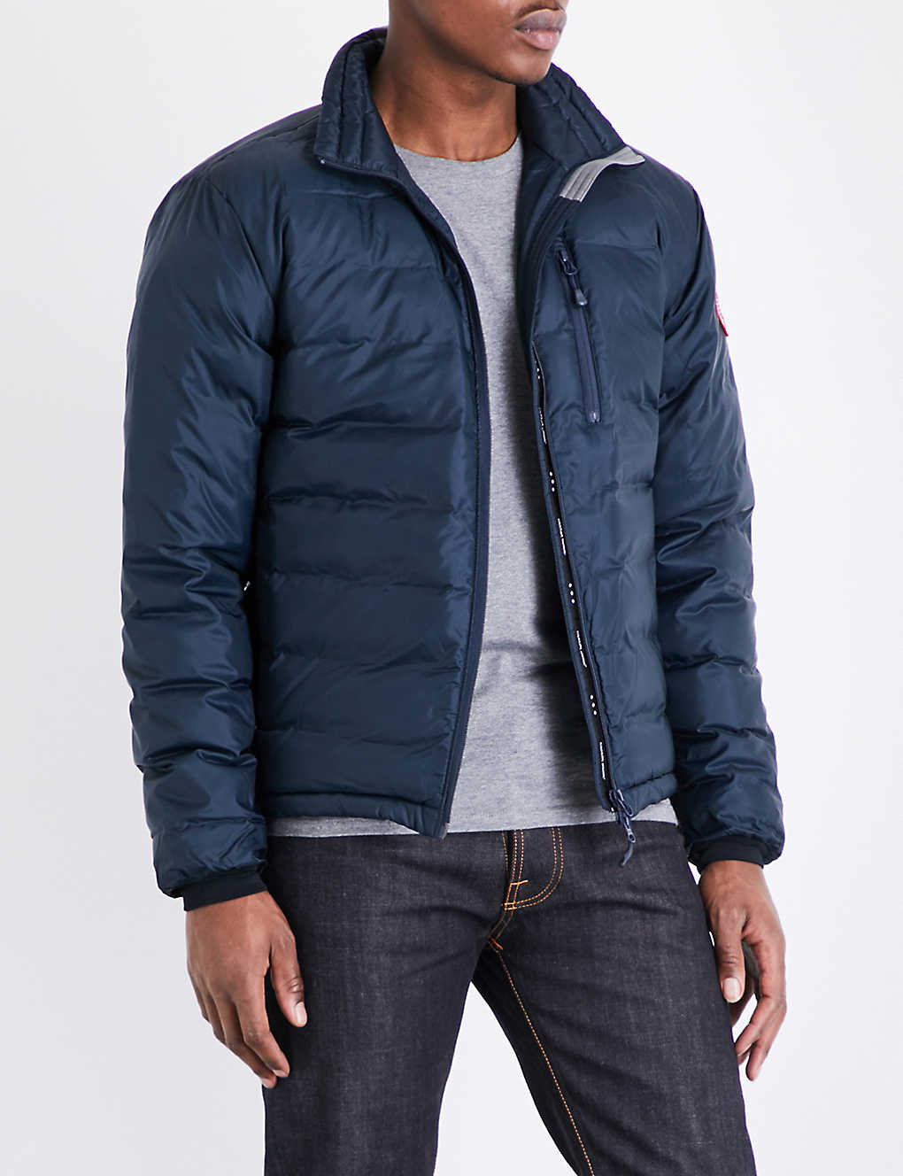 CANADA GOOSE - Lodge quilted shell jacket  e17cf47d6