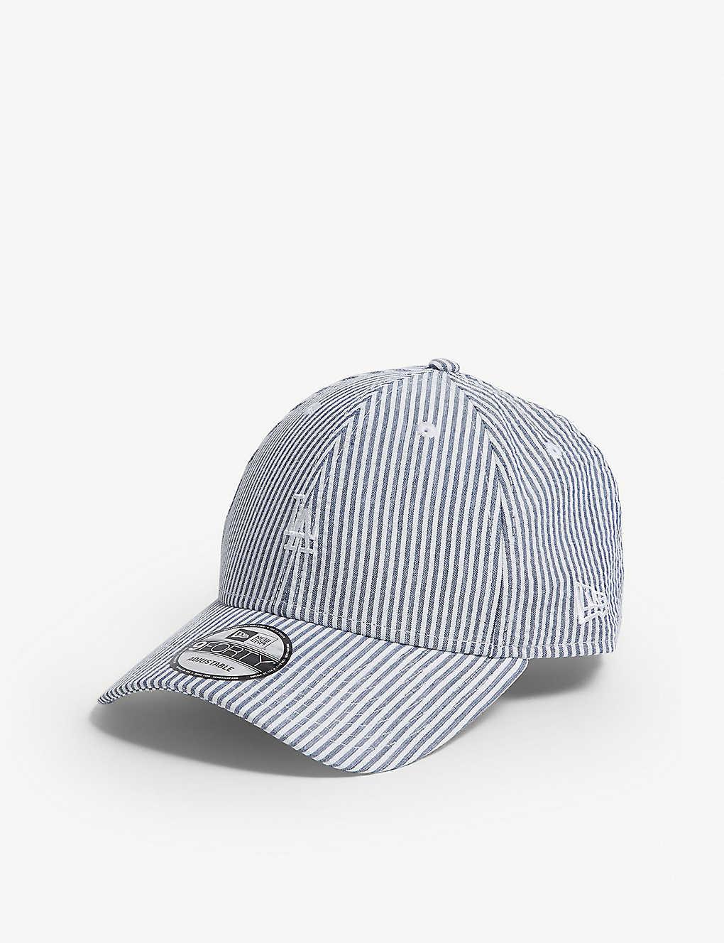 NEW ERA - 9FORTY LA Dodgers seersucker strapback cap  2199f8edd9