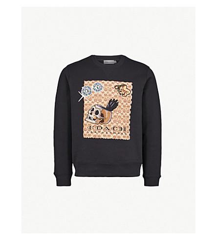 Dark Disney Cotton Blend Sweatshirt by Coach