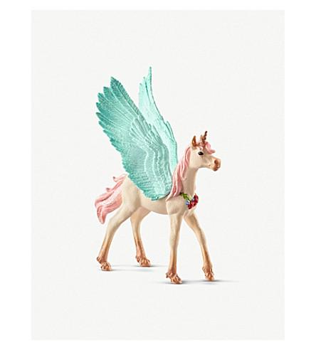 SCHLEICH Bayala Decorated Unicorn Pegasus Foal