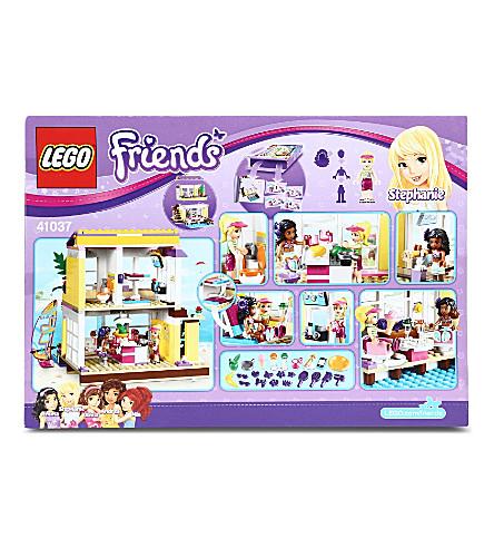 Lego Friends Stephanies Beach House Selfridgescom
