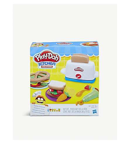 Playdoh Kitchen Creations Toaster Set Selfridges Com