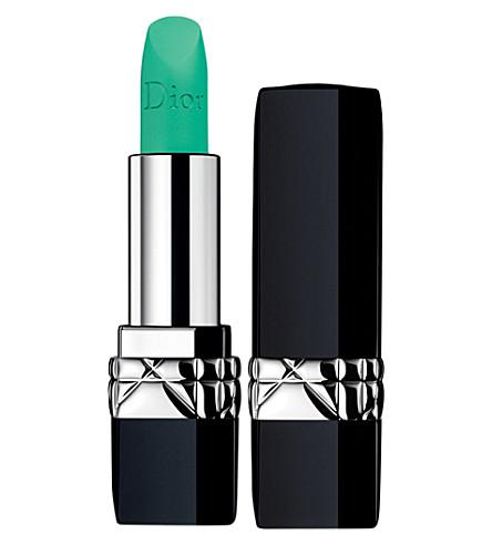 DIOR Rouge Dior matte lipstick (Vert+/+clover+matte