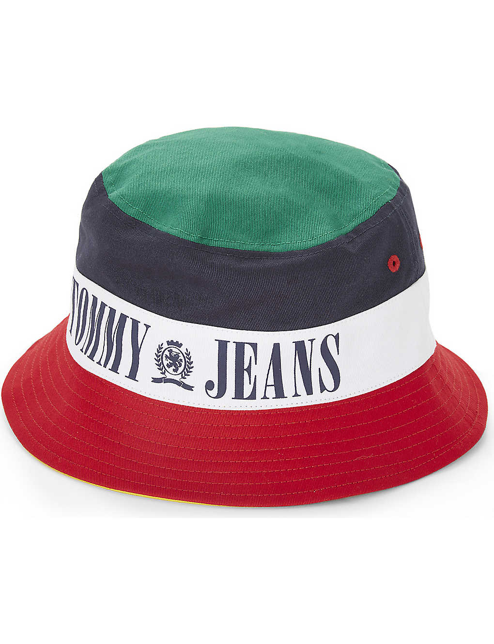 TOMMY JEANS -  90s cotton bucket hat  12c53f93bee