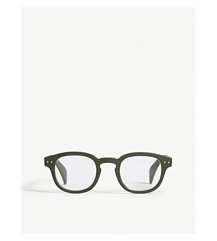 89cee2e091 IZIPIZI - Letmesee  C square-frame reading glasses +3.0