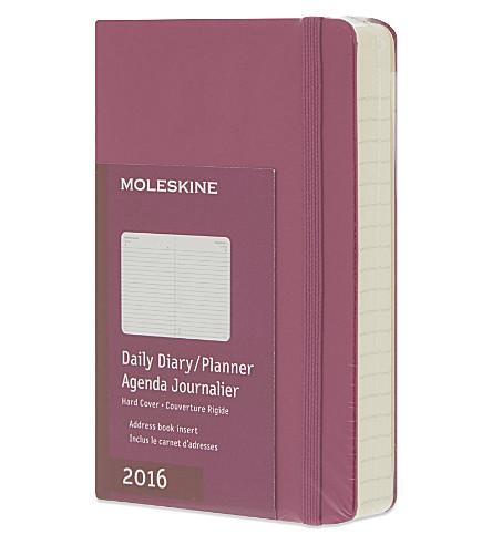 moleskine 12 month daily diary planner selfridges com