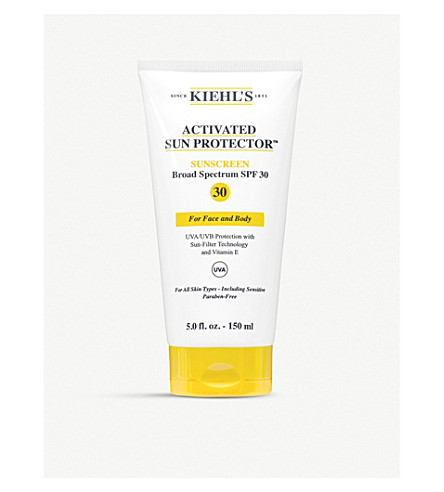 activated-sun-protector-water-light-lotion-for-face-&-body-150ml by kiehls